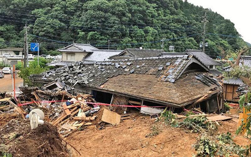306 مناطق سیلزده, هواشناسی ژاپن