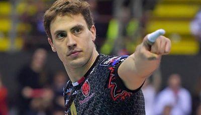 آتاناسیویچ کاپیتان تیم والیبال پروجا شد والیبال, الکساندر آتاناسیویچ