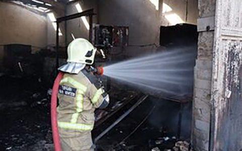 آتش سوزی در یک مجتمع تجاری در کیش مجتمع تجاری پردیس, اطفا حریق