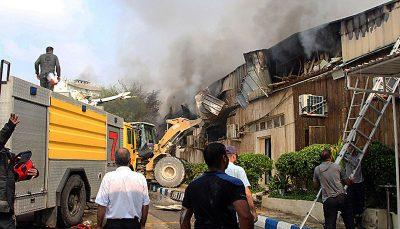 آتش سوزی در پاساژ پردیس کیش اطفا حریق, جزیره کیش, پاساژ پردیس