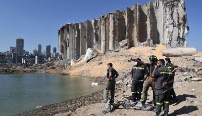 آخرین آمار کشته و زخمیهای انفجار مهیب بیروت لبنان, انفجار, نیترات آمونیوم