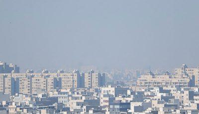 هوا طی شبانهروز گذشته در تهران