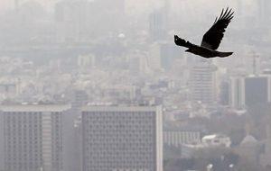 آلودگی هوا طی ۲۴ ساعت گذشته در تهران