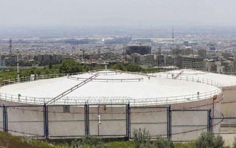 آن روی سکه انبارهای نفت شهران انفجار بیروت, انبارهای نفت شهران