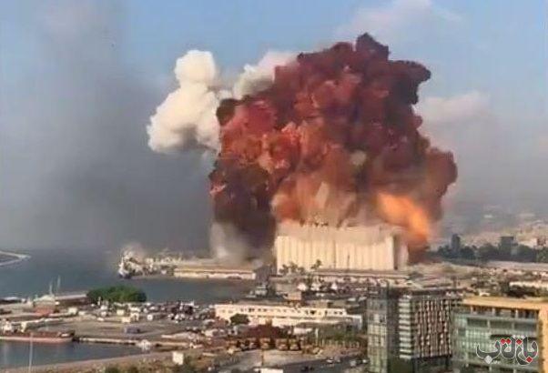 انفجار بیروت 01 انفجار لبنان, انفجار بیروت
