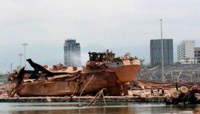 انفجار کشتی در بیروت انفجار بیروت, انفجار کشتی
