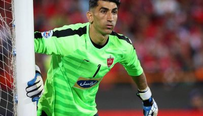 بیرانوند در جمع ۶ نامزد کسب عنوان بهترین بازیکن آسیا علیرضا بیرانوند, تیم ملی ایران