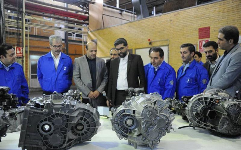 تولید آزمایشی 3 نوع گیربکس جدید در نیرو محرکه ایران خودرو, نیرومحرکه, محصولات اتوماتیک