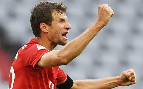 توماس مولر، سومین گلزن برتر تاریخ لیگ قهرمانان اروپا بارسلونا, لیگ قهرمانان اروپا, توماس مولر