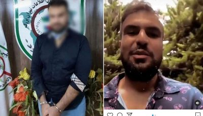 جوان توهین کننده به هموطنان شمالی بازداشت شد نیروی انتظامی, دستگیری فرد هتاک