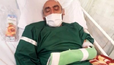 ضرب و شتم خبرنگار اردبیلی در روز خبرنگار/ عکس