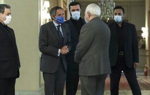 خروجی سفر گروسی به تهران
