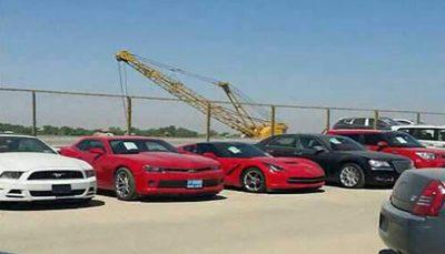 خودروهای آمریکایی، بلاتکلیف در گمرک ایران مناطق آزاد, گمرک ایران, خودروهای آمریکایی