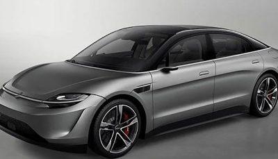 خودرو برقی سونی به زودی تولید میشود خودرو برقی, شرکت سونی, ویژن S