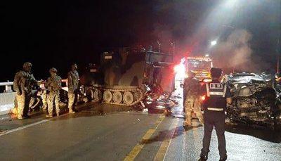 خودرو زرهی آمریکا جان چهار شهروند کره جنوبی را گرفت