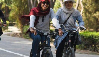 دوچرخهسواری بانوان در مشهد ممنوع شد