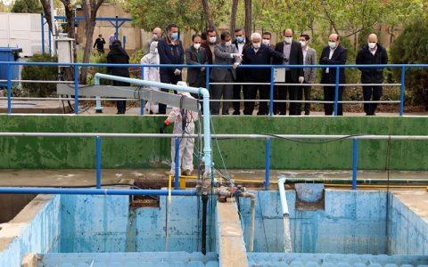 شهرداری تهران پساب تصفیهخانه بهشت زهراس فاقد ویروس کروناست بهشت زهرای تهران, آب مصرفی
