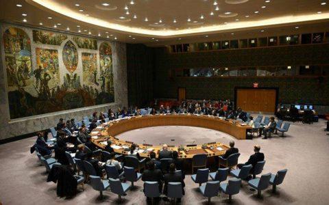 قطعنامه پیشنهادی آمریکا برای تمدید تحریم تسلیحاتی ایران، در دستور شورای امنیت قرار گرفت