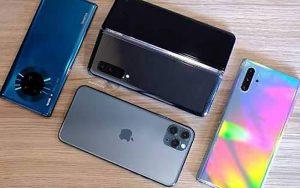 قیمت جدید انواع گوشی موبایل موجود در بازار تهران