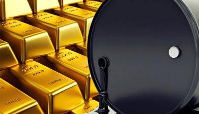 قیمت جهانی نفت و طلا