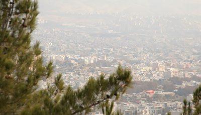 هوای تهران در مرز آلودگی شاخص کیفیت هوا, هوای تهران
