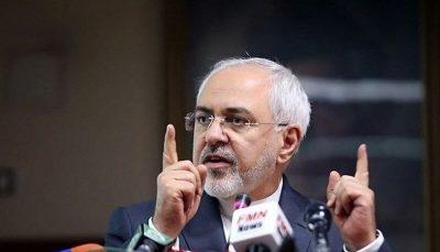 واکنش ظریف به شایعه پیشنهاد لغو تحریمهای آمریکا از سوی آلمان