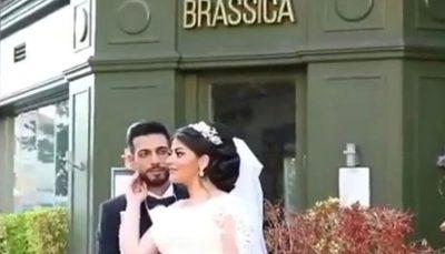 ویدئوی چهره هراسان عروس در لحظه انفجار بیروت