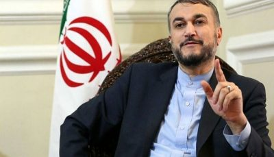 پاسخ توئیتری امیر عبداللهیان به برایان هوک درباره خاورمیانه جدید برایان هوک, حسین امیرعبداللهیان