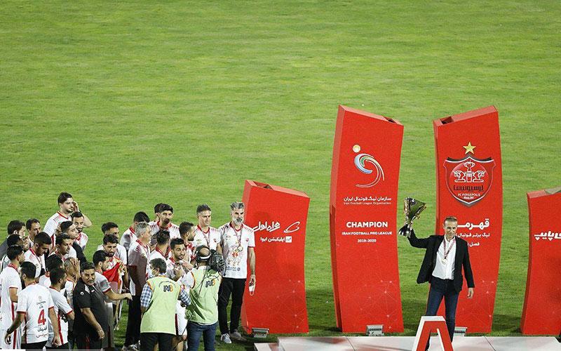گزارش تصویری از جشن قهرمانی پرسپولیس برای چهارمین بار متوالی