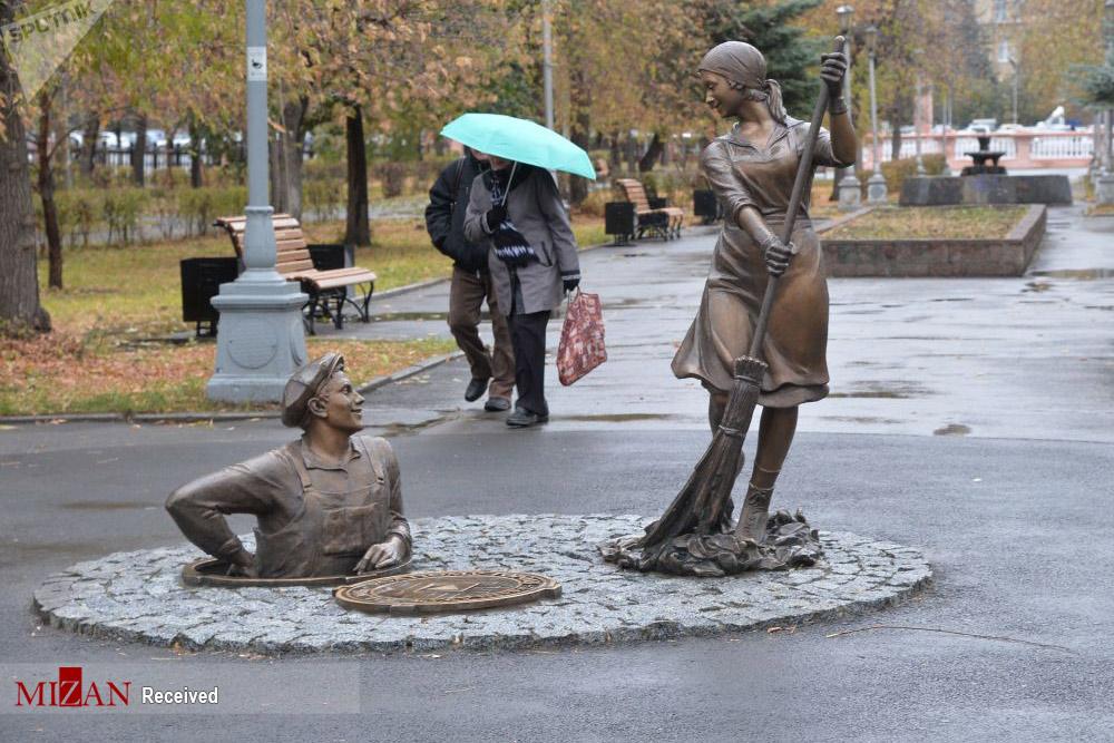 2724414 501 روسیه, عجیبترین مجسمهها
