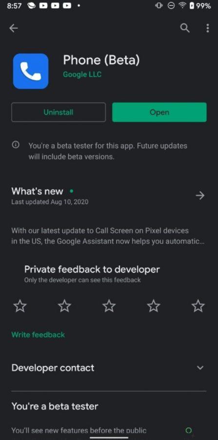 نسخه آزمایشی اپلیکیشن Google Phone برای برخی گوشیهای غیرپیکسلی منتشر شد