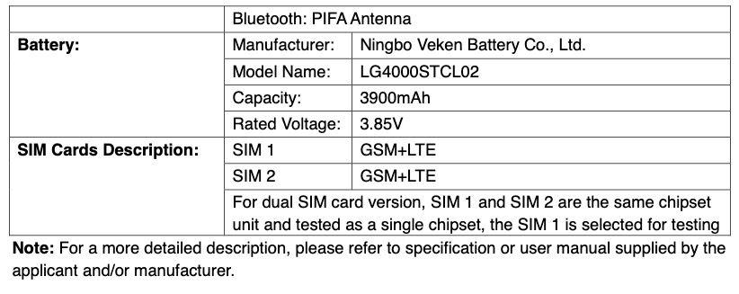 گوشی الجی K31s تاییدیه FCC را دریافت کرد