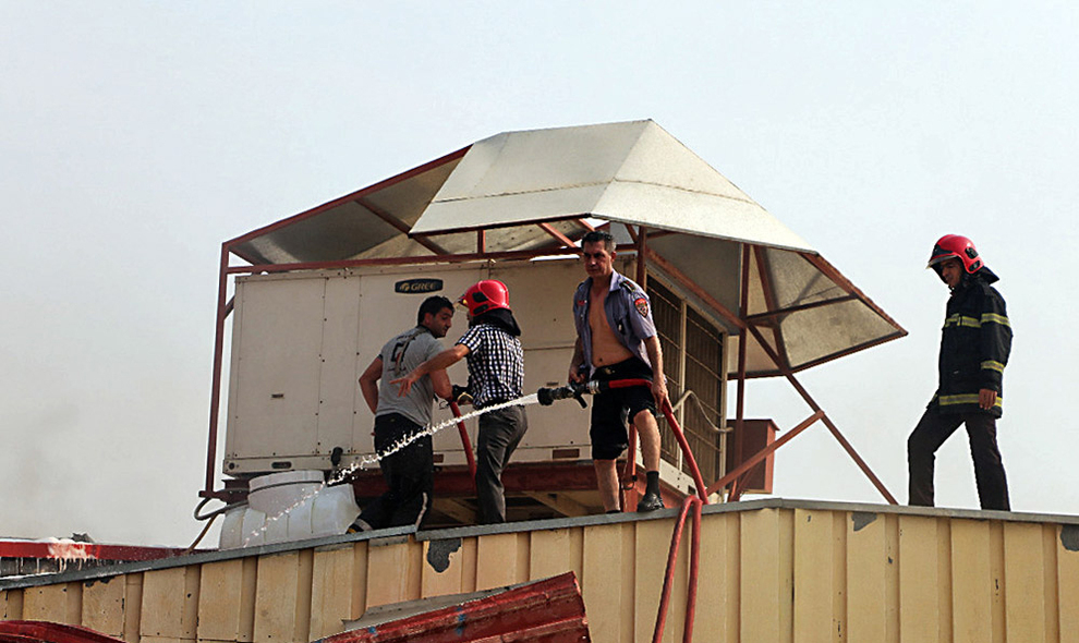 resized 731167 825 اطفا حریق, جزیره کیش, پاساژ پردیس