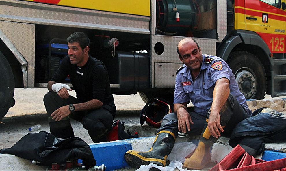 resized 731168 319 اطفا حریق, جزیره کیش, پاساژ پردیس