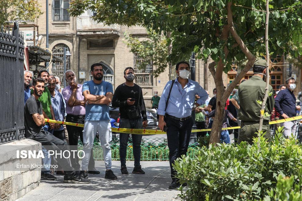 resized 735624 498 خودکشی, هتل فردوسی تهران