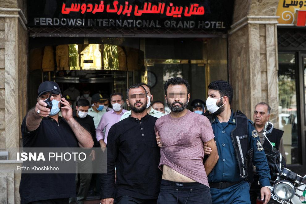 resized 735625 725 خودکشی, هتل فردوسی تهران