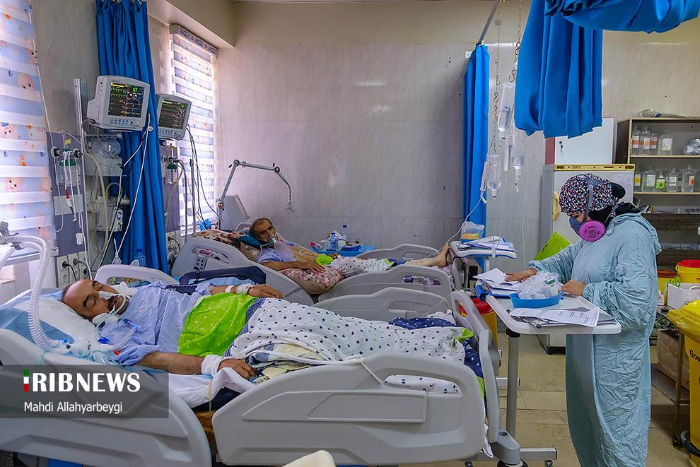 resized 737793 399 بیماران کرونایی, آی سی یو, بیمارستانهای کرج