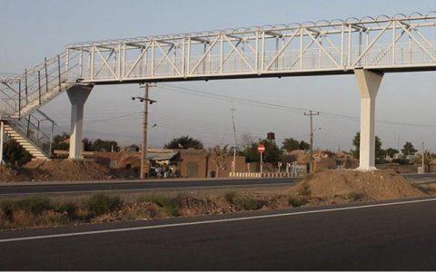 آزادراه کرج قزوین امشب کامل بسته می شود جمع آوری پل عابر پیاده, آزادراه کرج - قزوین