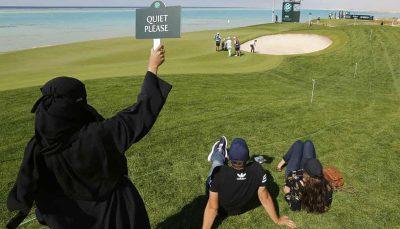 اولین مسابقه گلف زنان در عربستان سعودی عربستان سعودی, مسابقه گلف زنان