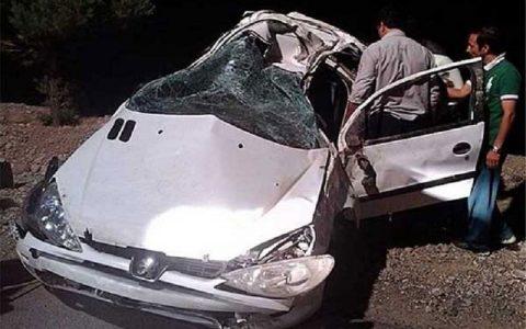 تصادف در جاده کرج-چالوس هشت مصدوم به جا گذاشت