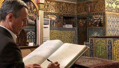 تصویری که وزیر خارجه سوییس از ایران نشان داد ایگناتسیو کاسیس, اصفهان