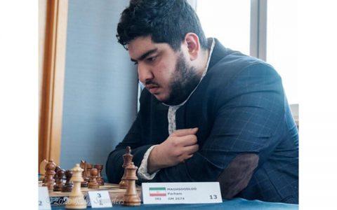 حضور دو نماینده شطرنج ایران در مسابقات قهرمانی جوانان جهان شطرنج ایران, پرهام مقصودلو
