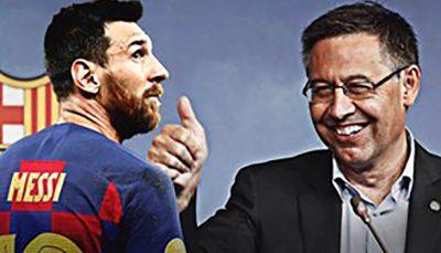 رئیس بارسلونا ما توانستیم مسی را نگاه داریم باشگاه بارسلونا, مسی