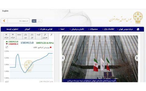 10 هزار و 468 واحدی شاخص بورس تهران