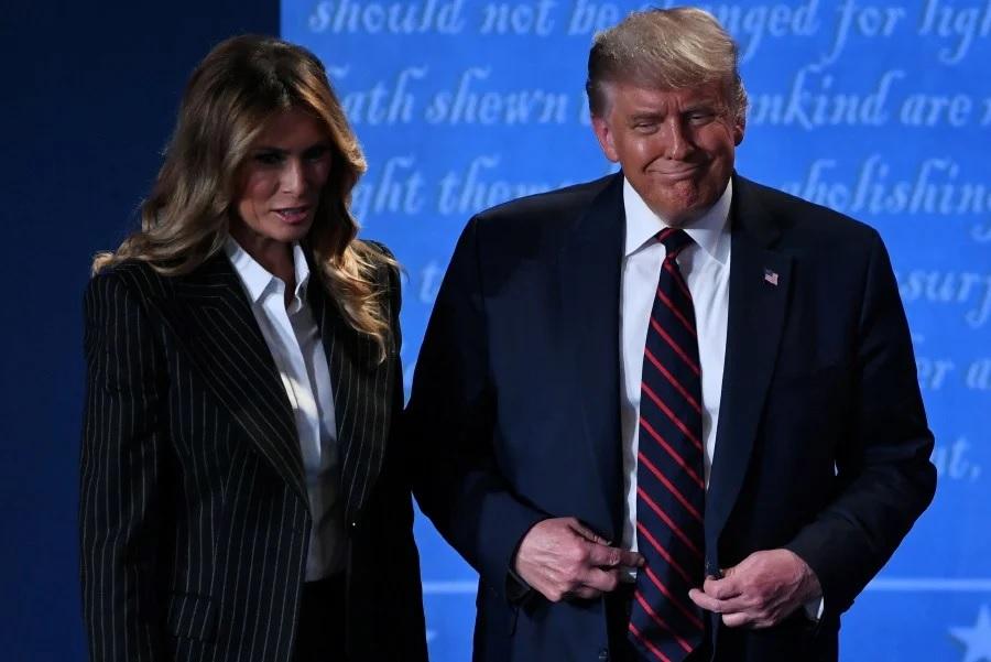 همسر ترامپ