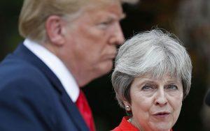 روایت روزنامه انگلیسی از اهانتهای ترامپ به «ترزا می»