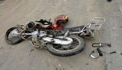 مرگ تلخ کودک 4 ساله مقابل چشمان پدر و مادرش موتورسیکلت, حادثه