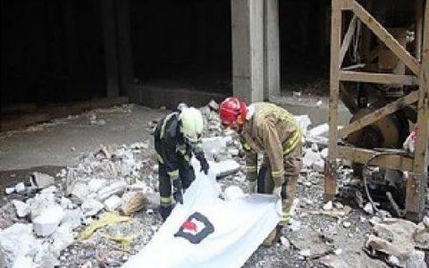 مرگ کارگر ساختمانی بر اثر سقوط از ارتفاع