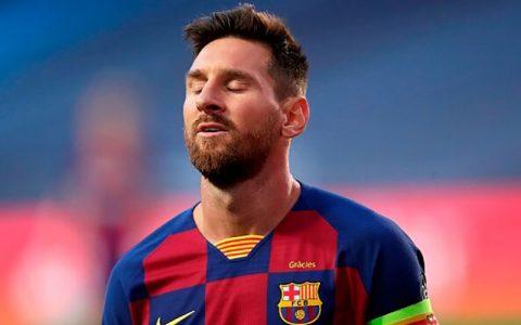 ناراحتی مسی از همتیمیهایش مهاجم آرژانتینی, مسی