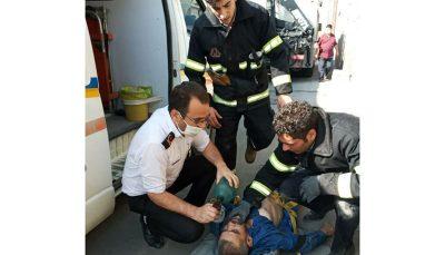 نجات معجزه آسای سه کارگر از مرگ در ساوه
